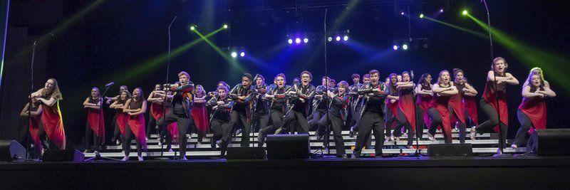 Show choirs filled with 'Glee'
