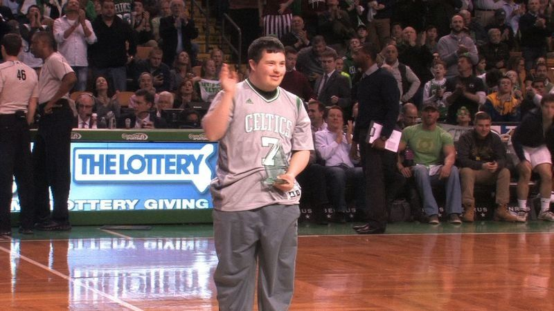 From Andover to the Garden; An inspirational Briggs turns Celtics' 'Hero Among Us' on famed parquet