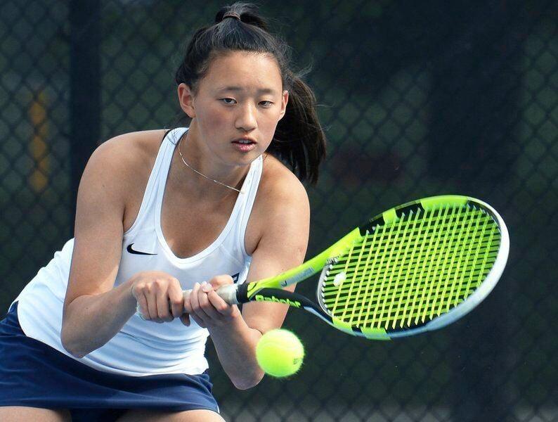 Tennis star Zhou dominating the competition for unbeaten Golden Warriors