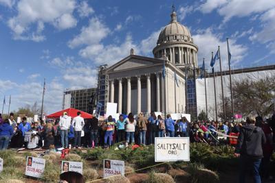 Oklahoma Teacher Walkout Day 6