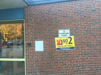 Law says 'No' to 'No on 2' signs