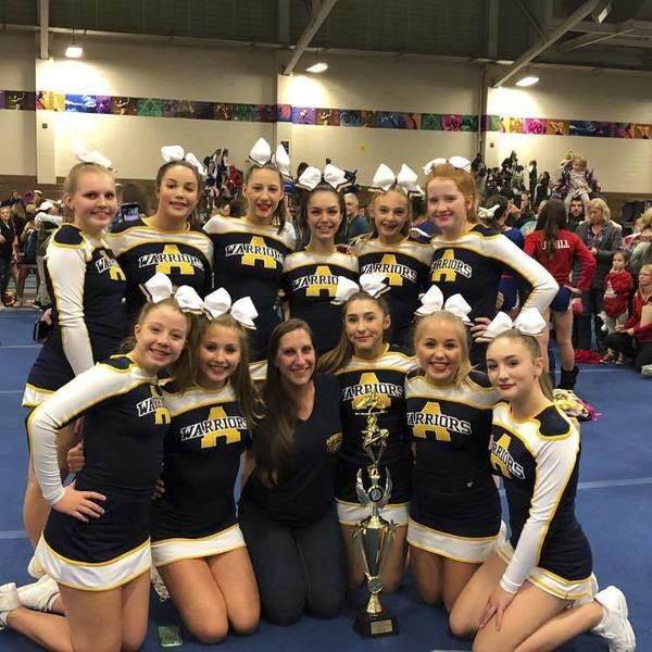 AJFL Cheerleaders Win State Competition | Sports | Andovertownsman.com