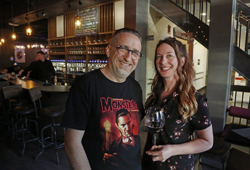 At Theory, it's all about the wine and the music