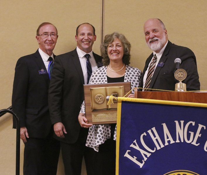 Exchange Club honors businesswoman