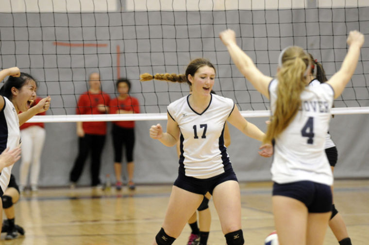 Volleyball sweeps past Haverhill for North title | Sports ...