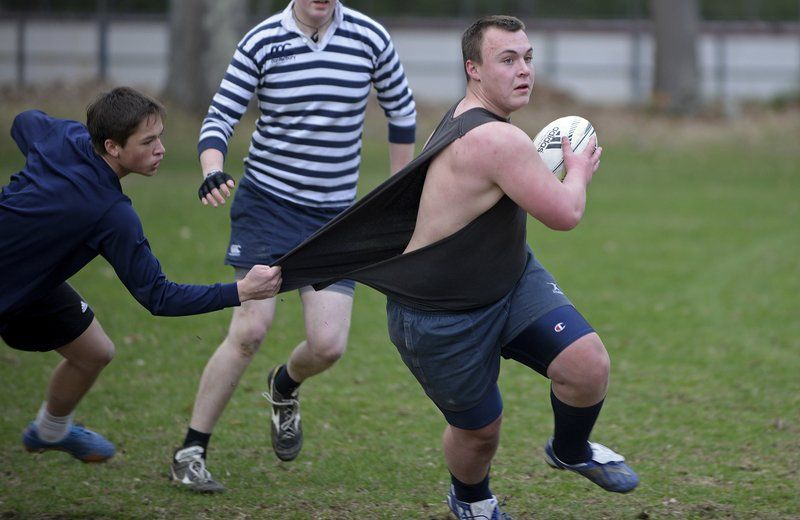 Rough respect; Rugby Club breeding legion of new devotees to sport