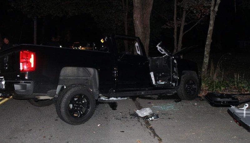 Driver hospitalized after crashing into tree in Andover