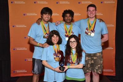 Andover represents at DI Global finals; Alumni team wins only state medal
