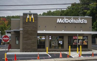 McDonald's reopens after renovations, gas crisis