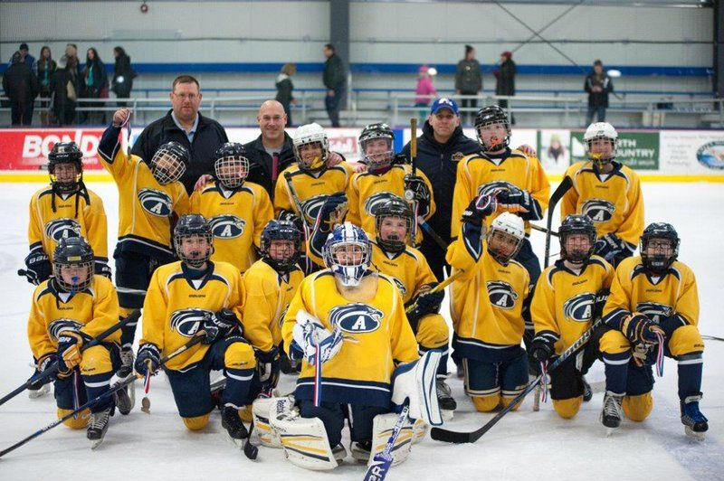 Andover Peewee 3 Win Vermont Tourney Local News Andovertownsman Com