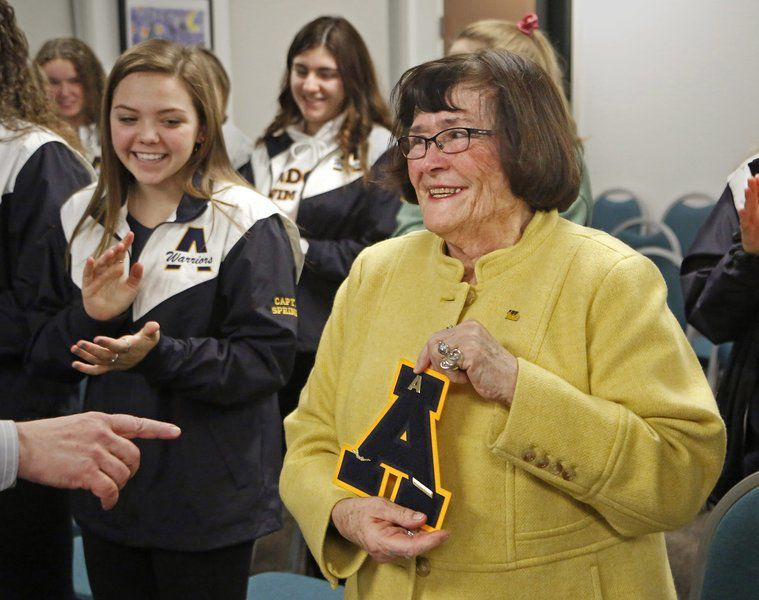 Fitzgerald honored with varsity letter