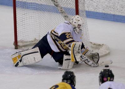 Final face-off for AHS boys' breakout hockey season