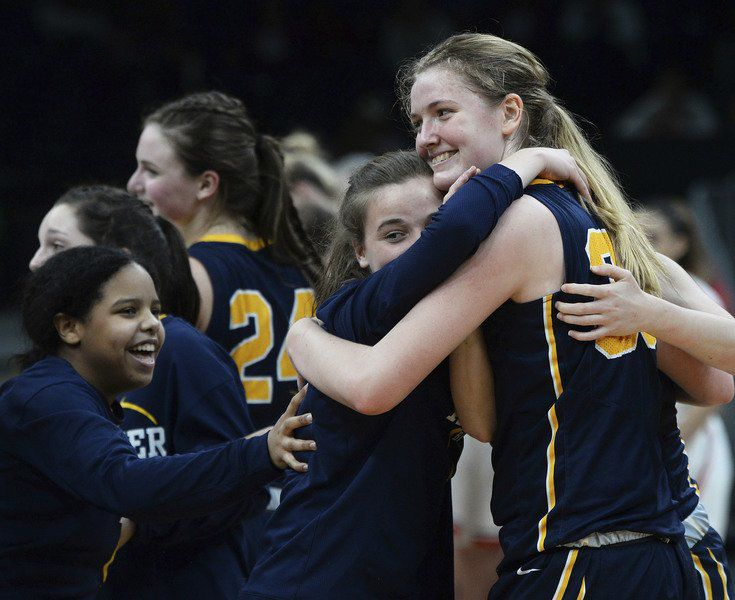 Girls hoops wins state semifinals on TD Garden parquet