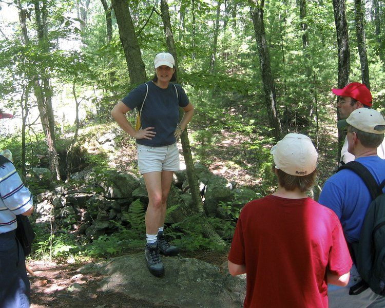 Hiking the blues; Soapstone quarry hike revisits history within Harold Parker State Forest
