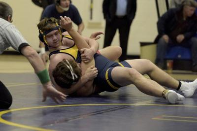 Andover High Roundup: Ballou delivers quick pin in delayed wrestling season