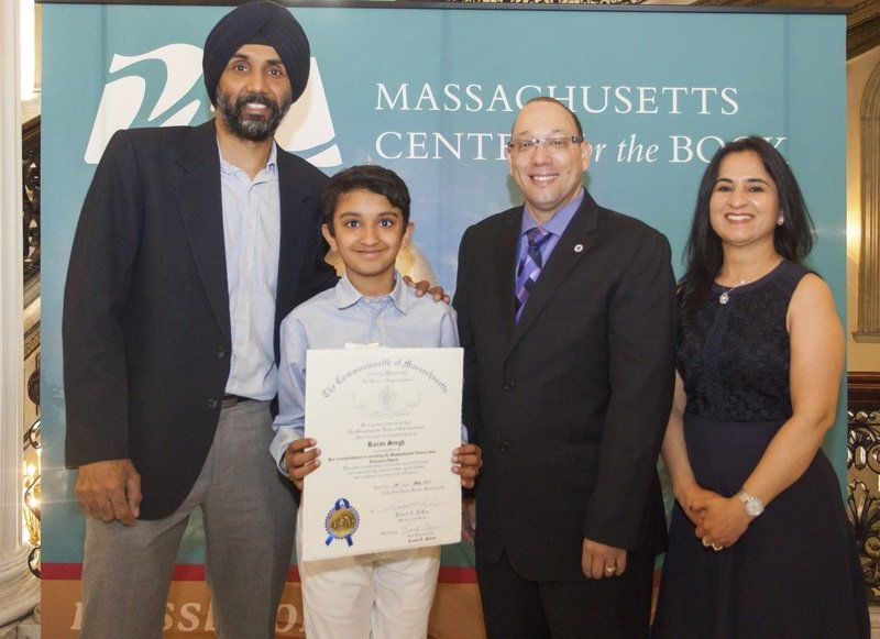 Andover fifth grader wins 'Letters About Literature' award