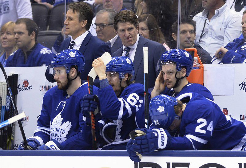Mike Babcock, Maple Leafs coach, a big fan of Merrimack College
