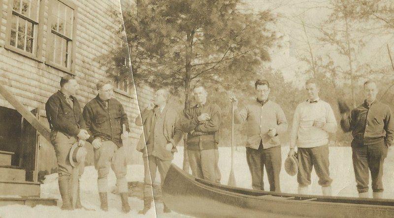 Paddling the Shawsheen a century ago