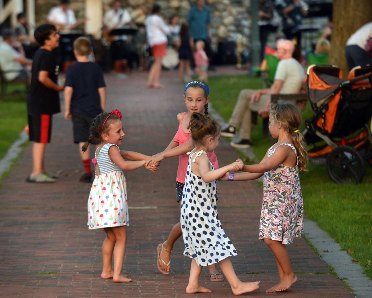 Andover's six-week Summer Concert series kicked off in the Park Wednesday night. The  free concert  featured Rico Barr and Jumpin' Jive Band.