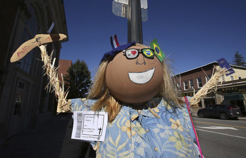 Welcome to Scarecrow Street!