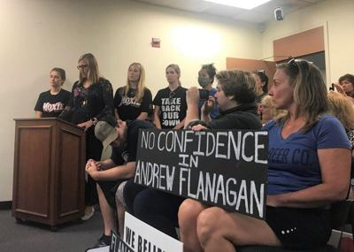 Fahey supporters pack Select Board meeting