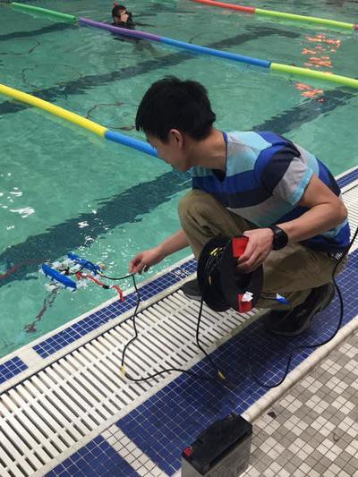 Underwater robotics team to compete on national level