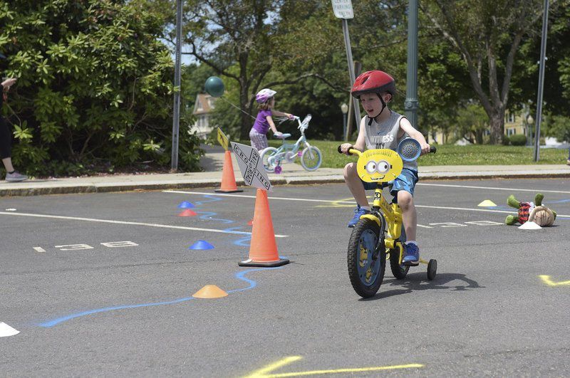 Rec. Department hosts first-ever bike rodeo