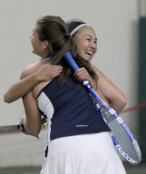 Andover Archives: Golden Warriors girls tennis stars
