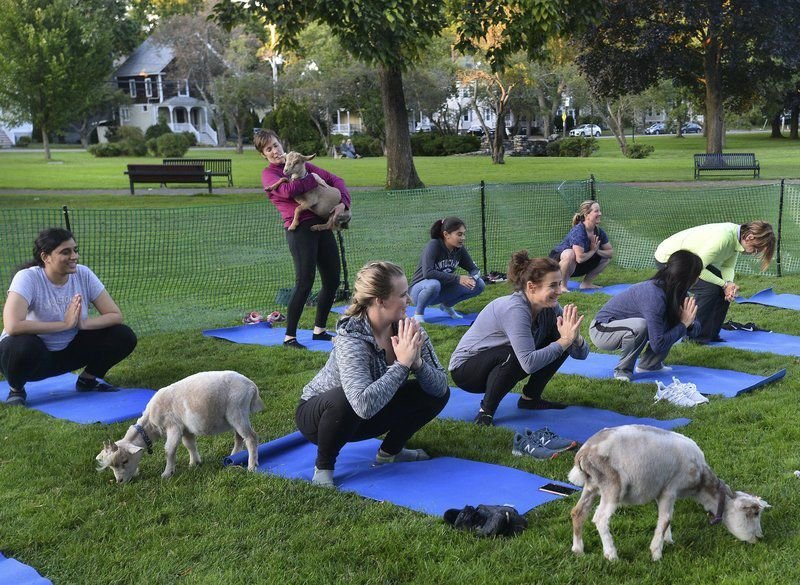 Not your typical yoga class