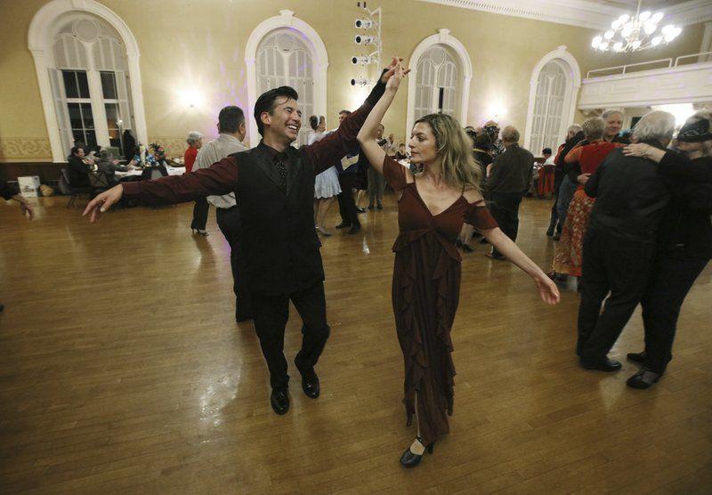 Masquerade ball brings back dancing memories