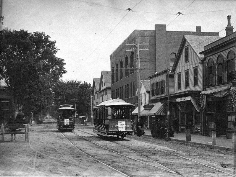Andover Story: Clang, clang, clang went the trolley