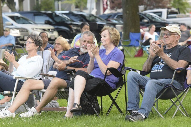 Sounds of summer: Neighbors gather for concert series
