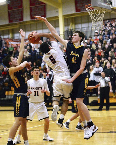 10 Questions with: Andover basketball star Aidan Cammann