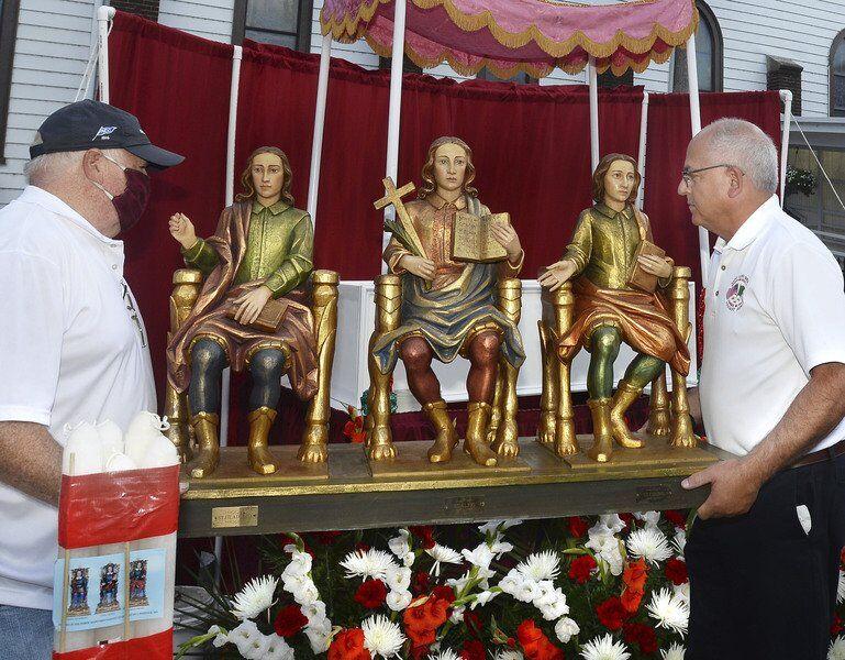 Feast of the Three Saints held despite pandemic