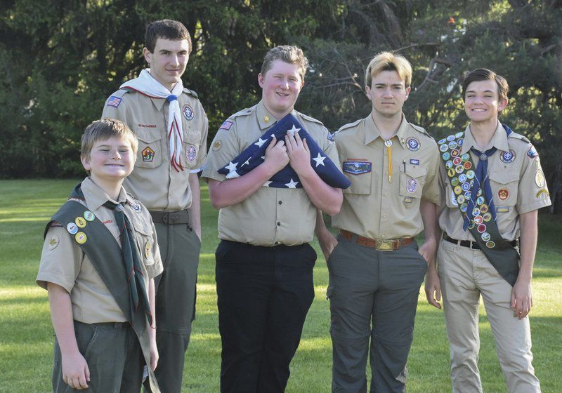 Scouts shine spotlight on Fourth of July