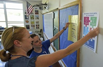 Schools prepare to open
