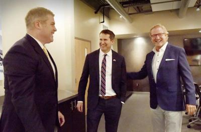 Presidential candidate Moulton tours Andover defense contractor