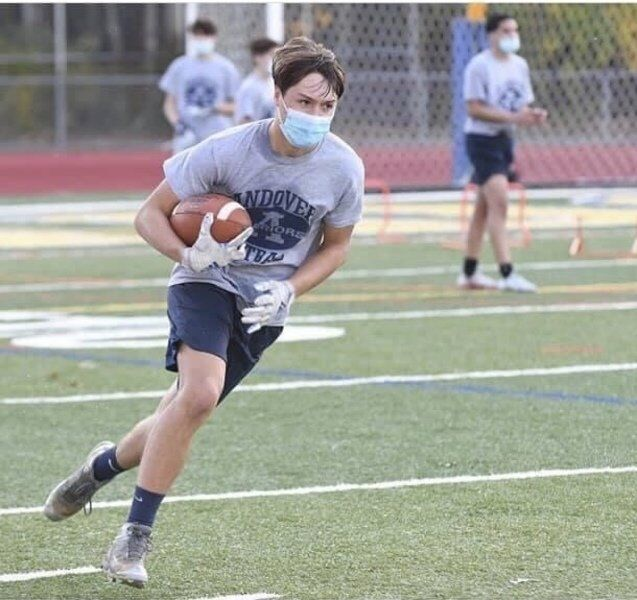 Andover football dedicated lost fall to team workouts, intense preparation