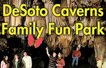 Desoto Caverns - Newsletter - 350x225 - Test