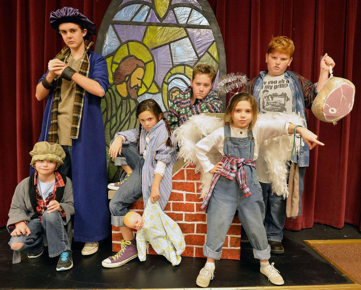cast presents all kids production of best christmas pageant ever features annistonstarcom - The Best Christmas Pagent Ever
