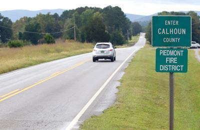 Calhoun County sign