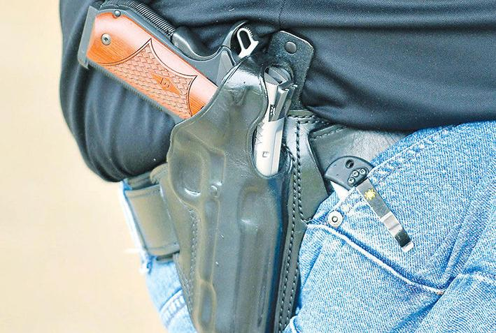 Bill would give sheriffs tighter deadline in some pistol permit cases