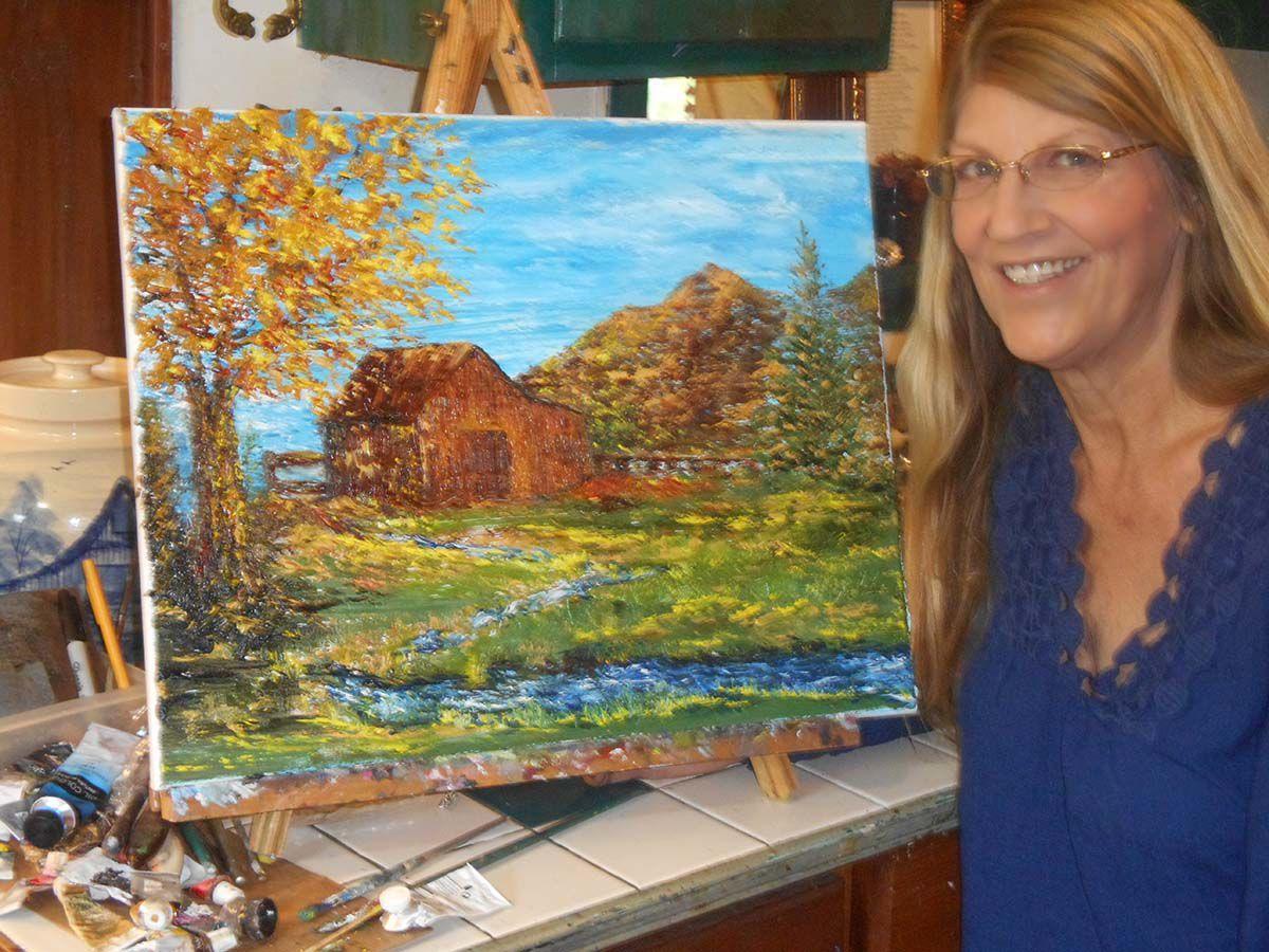 """Cabin by the Creek"" Julie Baxter.jpg"