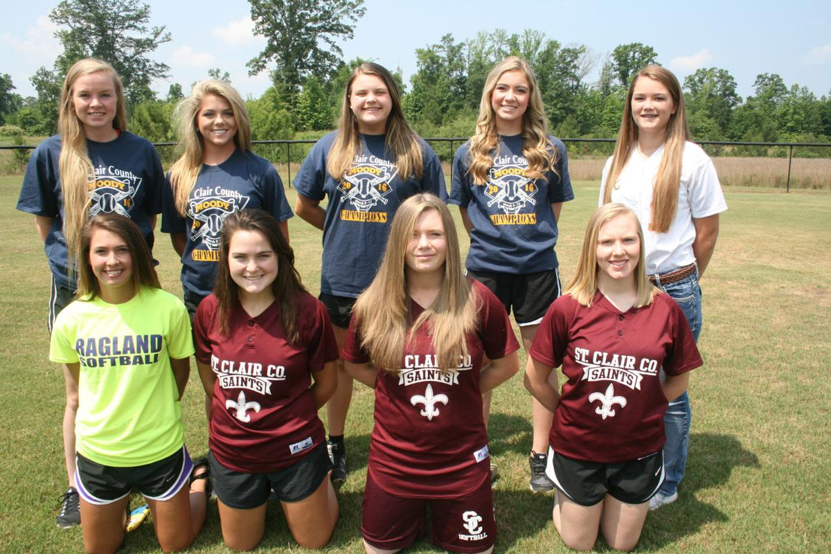 Alabama saint clair county odenville - Members Of The All County Softball Team