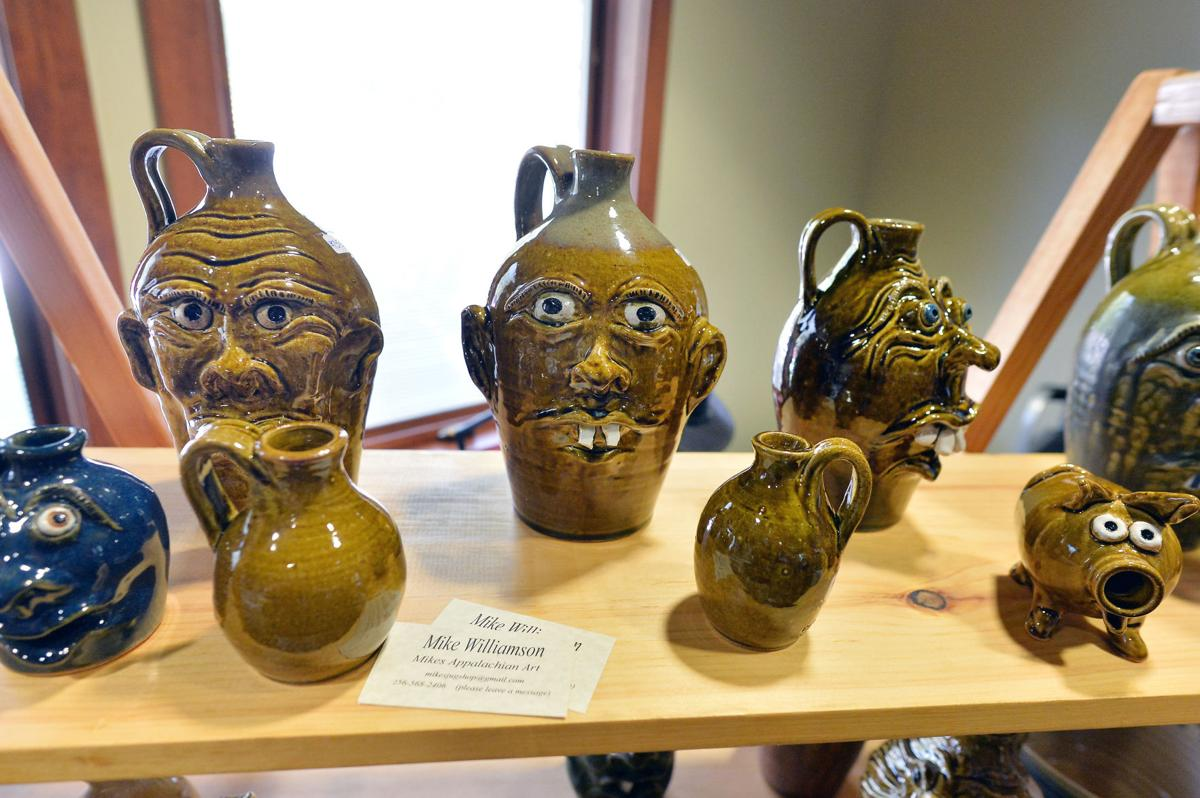 Cleburne Folk Pottery Show BW 06.JPG