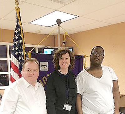 New E.H. Gentry director speaks to Talladega Lions Club