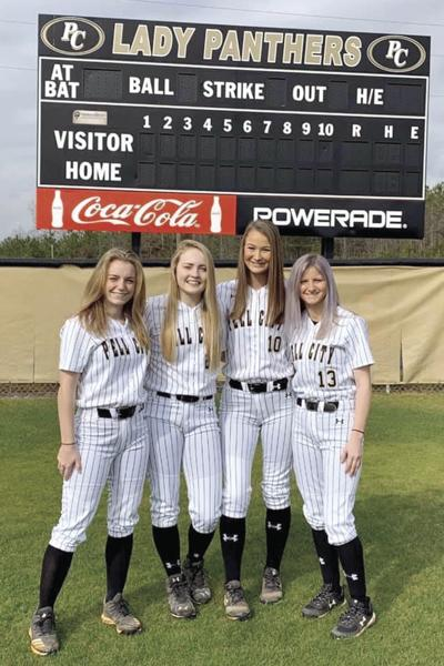 Pell City High School softball seniors