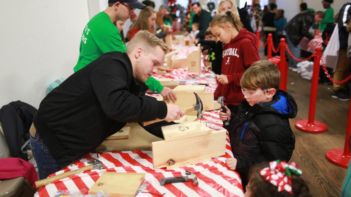 Scenes from Saturday at Christmas on the Square in Talladega (photo gallery)