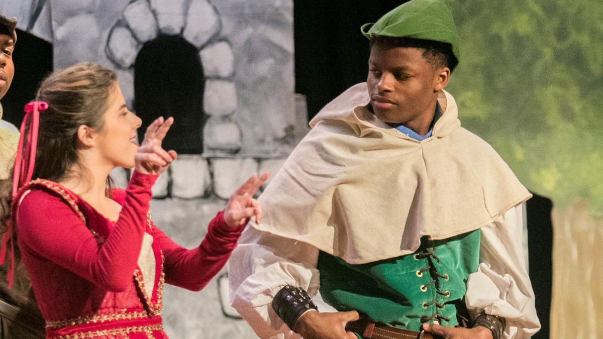 PHOTOS: Alabama School for Deaf drama club performs 'Robin Hood'