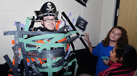 Cleburne County students enjoy 'pirate dance'